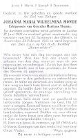 Monde, Johanna Maria Wilhelmina 23-02-1943 Bidprentje .jpg