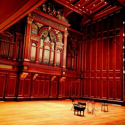 Jordan Hall at New England Conservatory in Boston