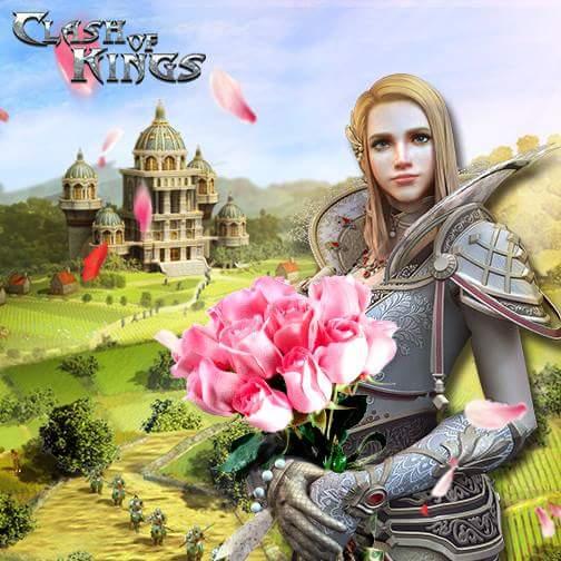 Clash of Kings Dünya Kadınlar Günü Etkinliği