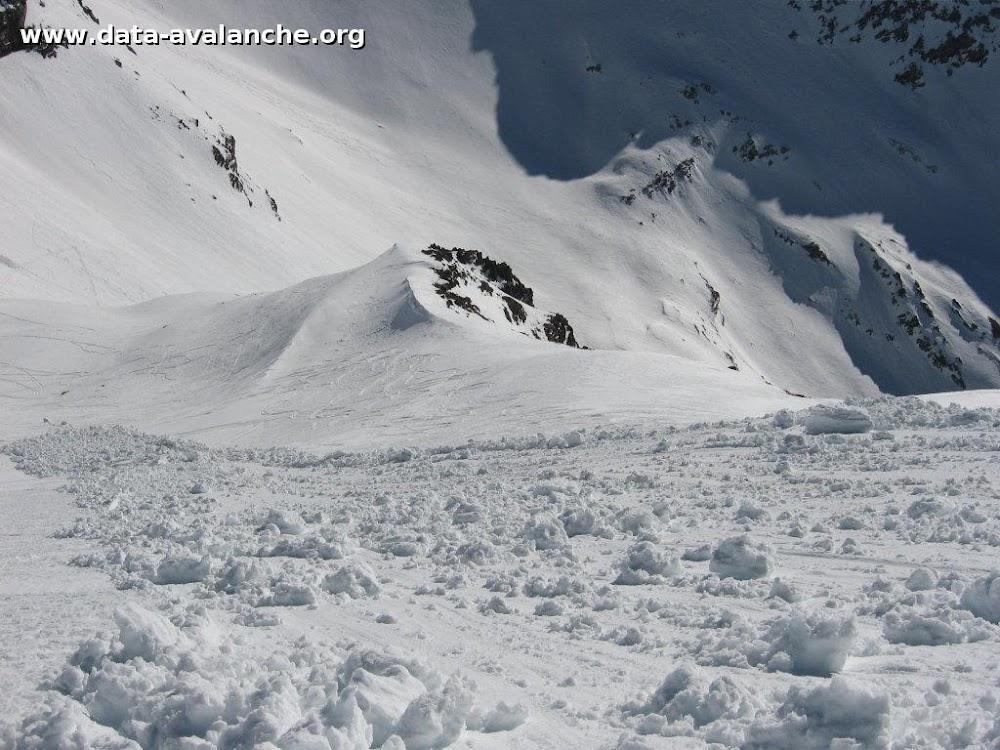 Avalanche Oisans, secteur Petit Pinier, Entre Pinier Face Sud - Photo 1