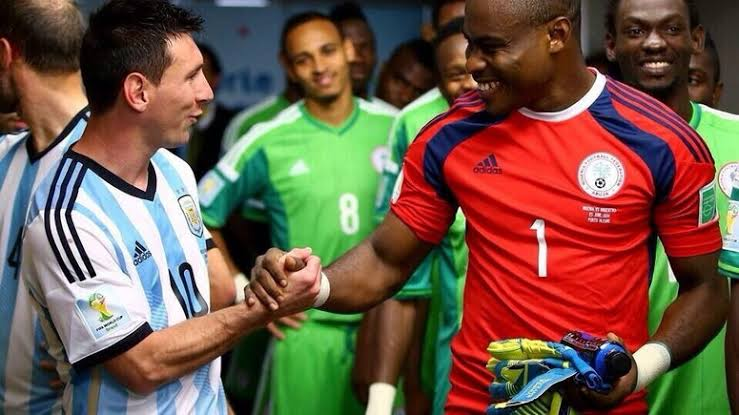 World's best Player seeing World's best Goalkeeper;- Enyeama discusses on his Encounter with Lionel Messi