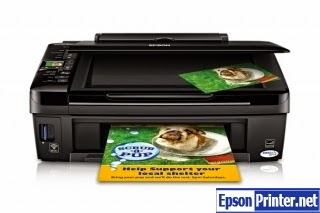 Reset Epson Stylus NX410 printer by tool