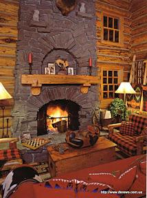Интерьеры деревянных домов - 0052.jpg