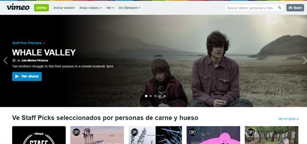 Abrir mi cuenta Vimeo
