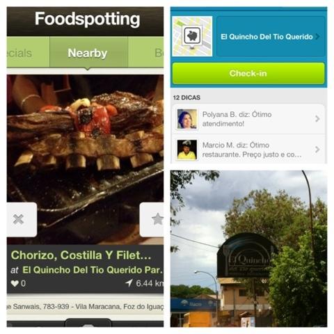 aplicativos, app, Foursquare, Foodspotting, Trip Advisor,