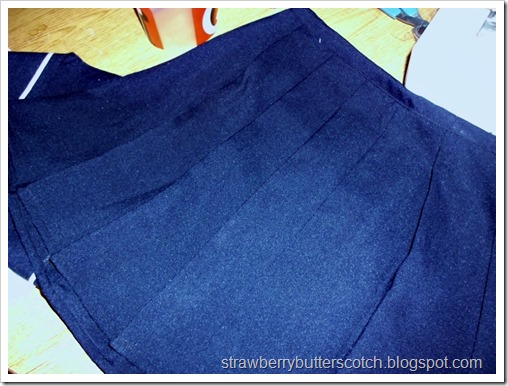 Sailor Moon? No, Just a Uniform: Making the Pleated Skirt