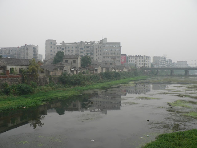 river in Tongcheng, Anhui, China