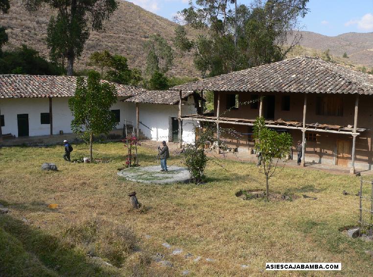 Ex hacienda Santa Luisa - Cajabamba