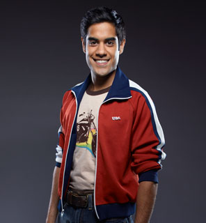 "Sacha Dhawan, star of NBC's ""Outsourced"""