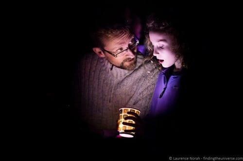 Science Festival Edinburgh Light Workshop