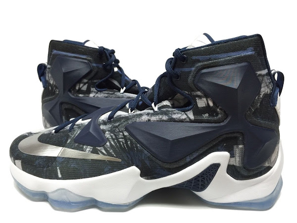 First Look at Nike LeBron 13 Akron Zips Home and Away PEs