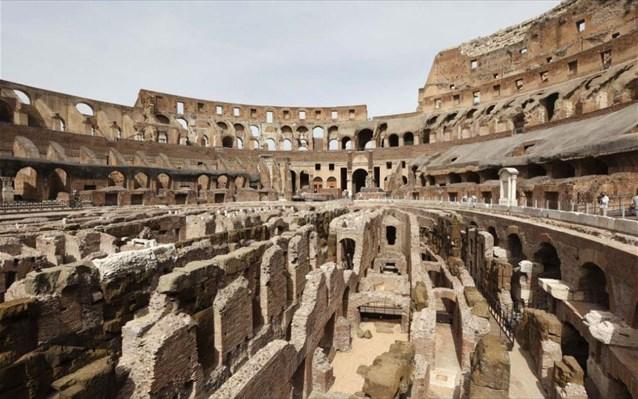 Κολοσσαίο: Οι σήραγγες των μονομάχων ανοίγουν για πρώτη φορά στο κοινό