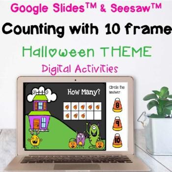 halloween ten frame