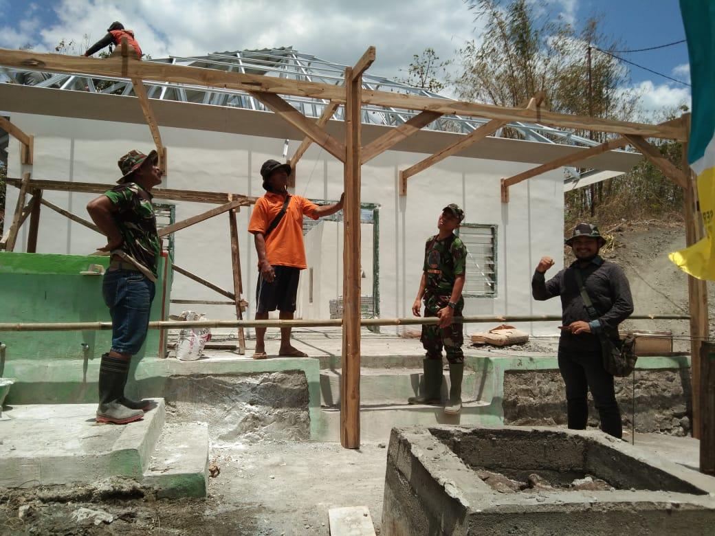 TMMD Ke-106 Kodim 1423 Kabupaten Soppeng Jadi Sarana Membangun Integrasi Bangsa