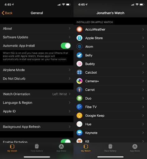 تثبيت التطبيقات التي تستخدمها على هاتف ايفون
