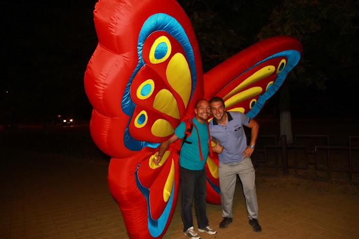 Надувной костюм #КрыльяБабочки на праздник. Бабочки на Вашем празднике.Крылья бабочки напрокат