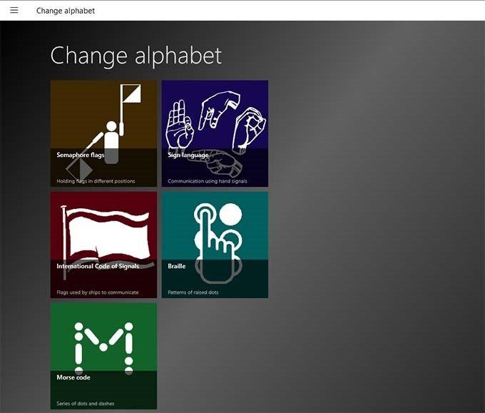 change-alphabet