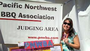 I'm a BBQ Judge for the PNWBA