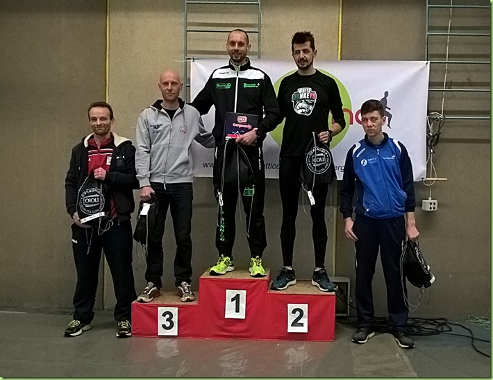 podio maschile 15km