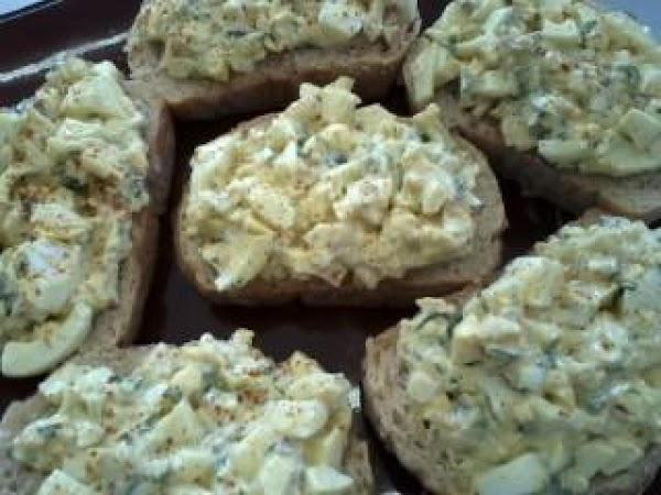 Fall Curried Egg Salad Recipe