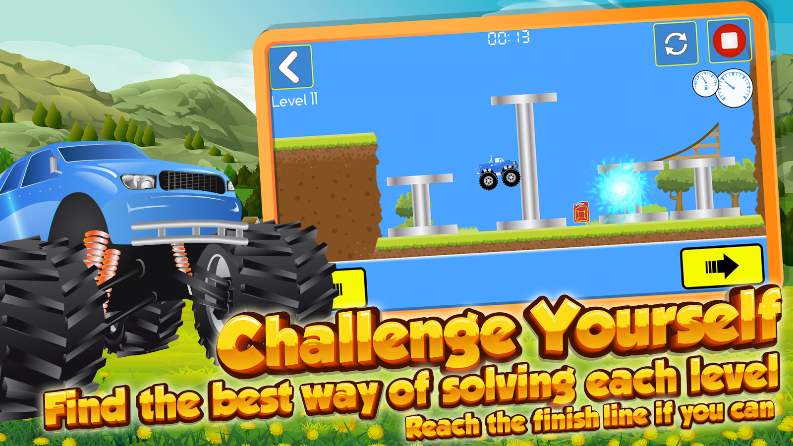 Truck Trials Driving Challenge- screenshot