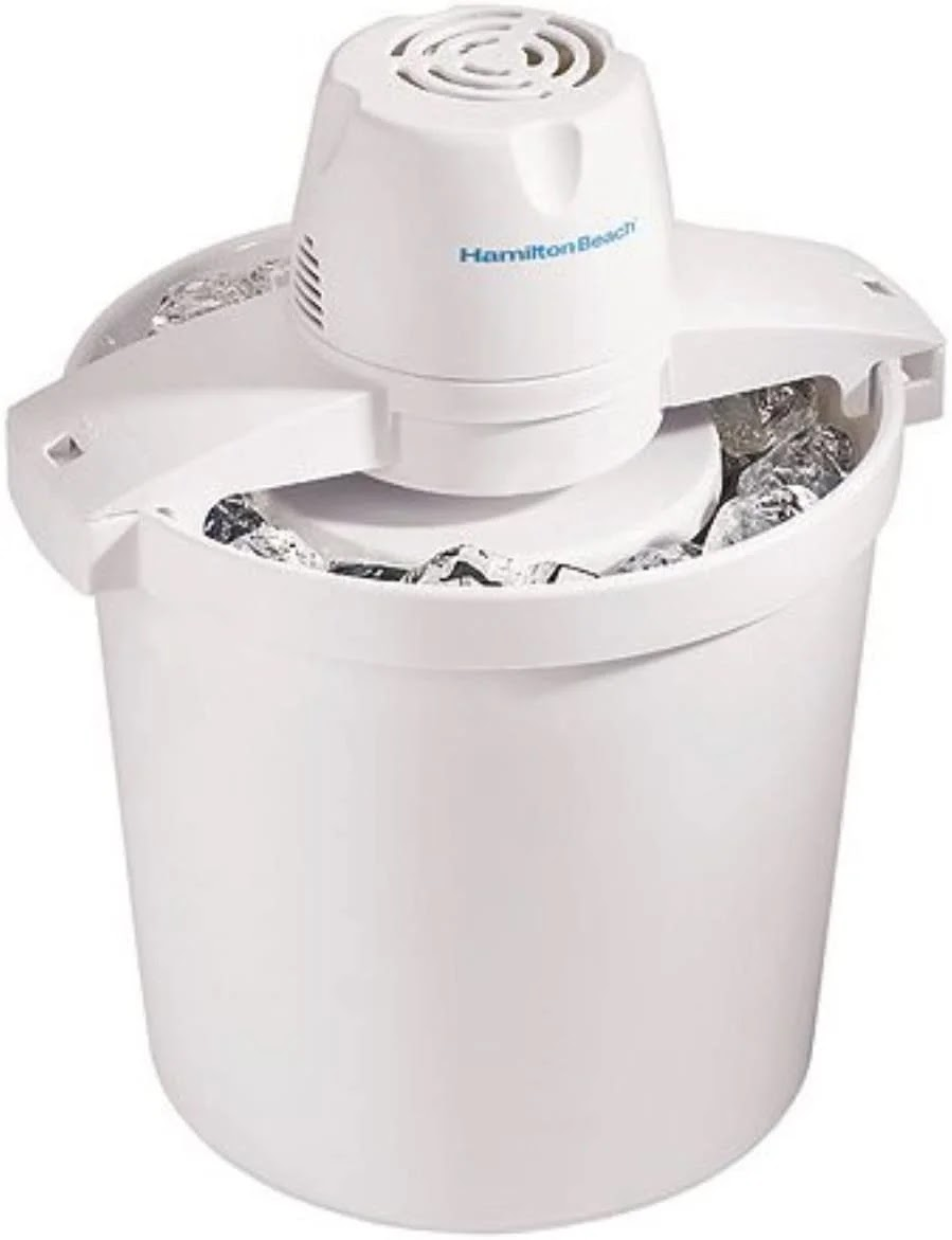 Ice cream maker for DIY ice cream at home during the fall season
