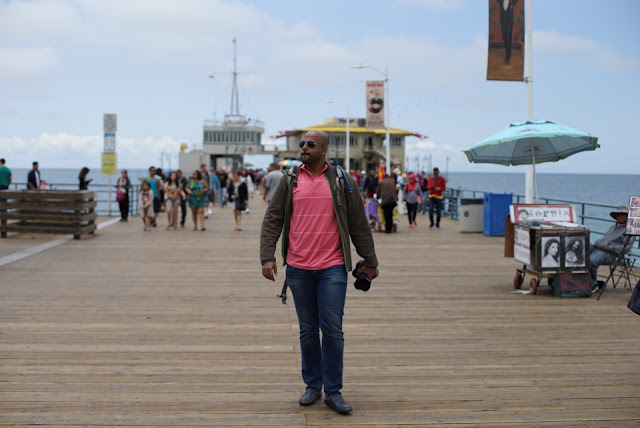 Traveling the world like you belong at Santa Monica, California
