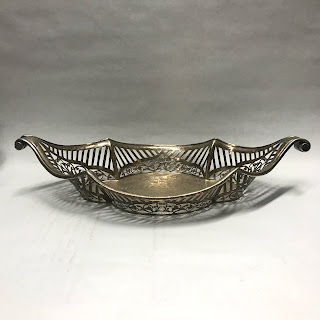 Sterling Silver Pierced Bowl