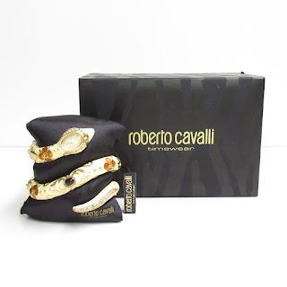 Roberto Cavalli NEW Snake Bracelet Watch
