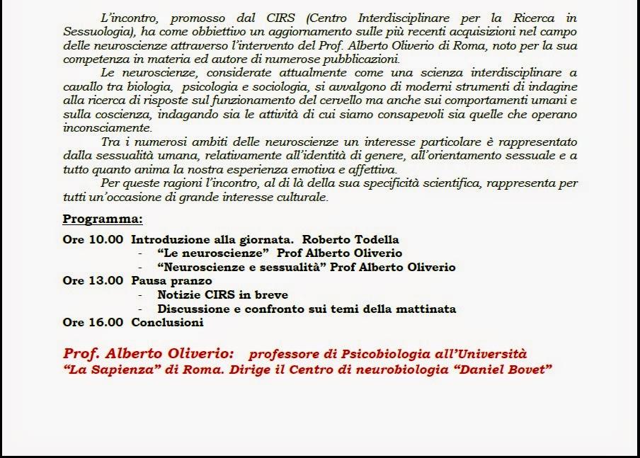NEUROSCIENZE E SESSUALITÀ p2.2