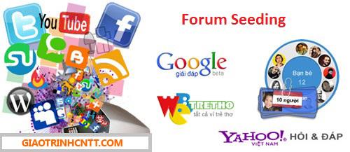 Tài Liệu Về Forum Seeding Cơ Bản