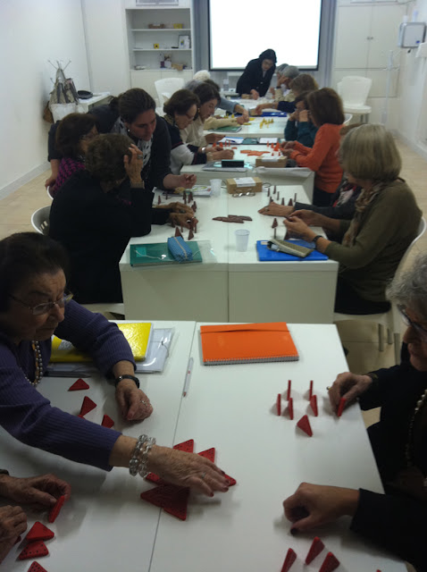 Nova sala de aula Oficina da Memoria - 2012