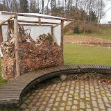 Короб для сухих листьев и растительных остатков