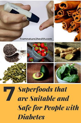 Avocado, Chia Seed, Pumpkin Seed, Spinach, Ginger is 7 Superfoods that are Suitable and Safe for People with Diabetes