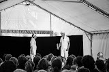Quand le Théâtre monte en Alpage, nous avons droit à une succession de scènettes très variées avec des comédiens avertis