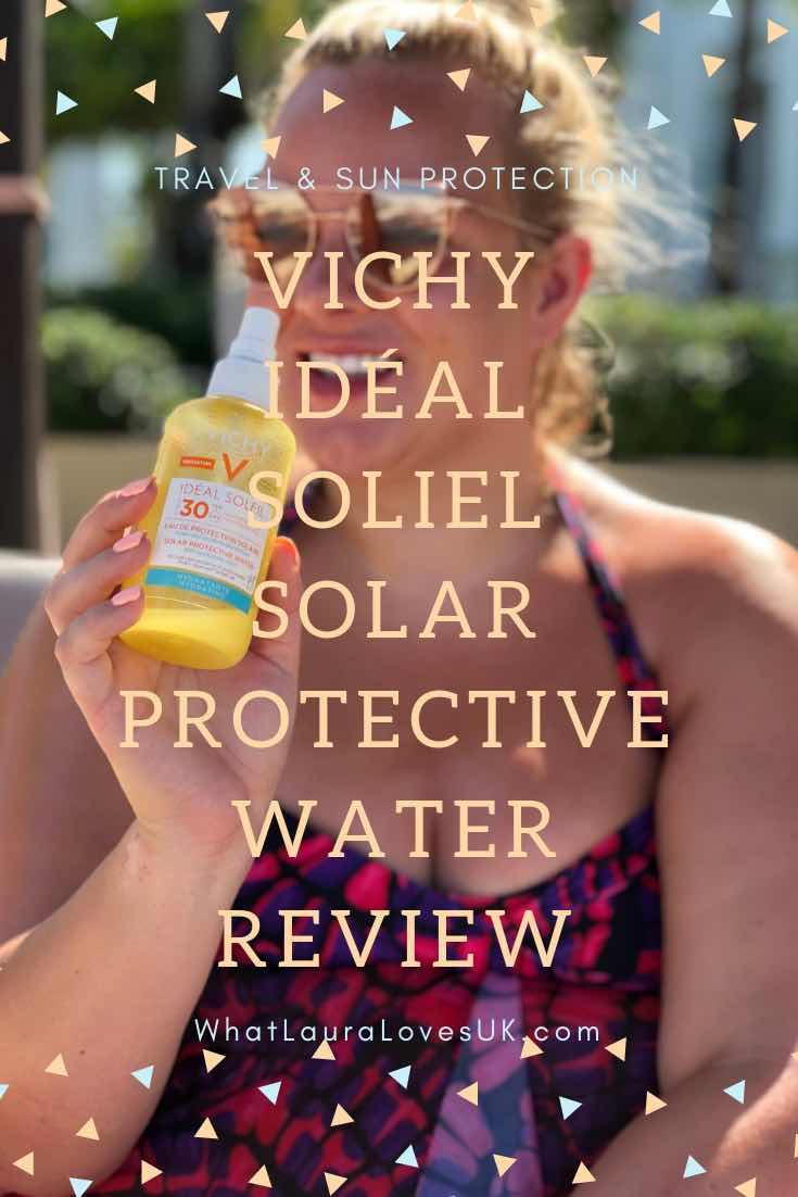 Vichy Idéal Soliel Solar Protective Water Review