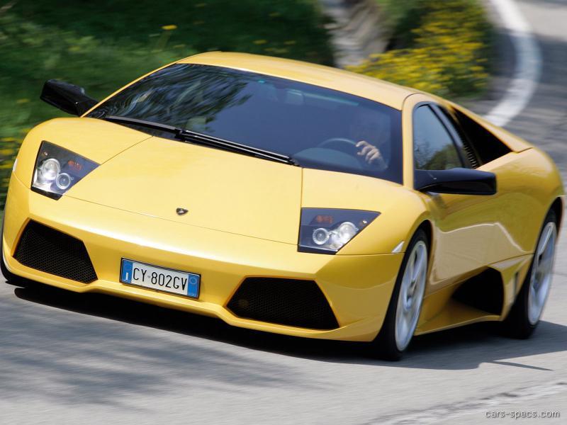 2008 Lamborghini Murcielago Coupe Specifications Pictures