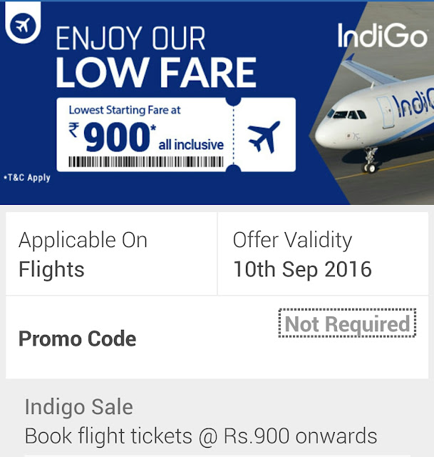 Indigo flight coupon codes