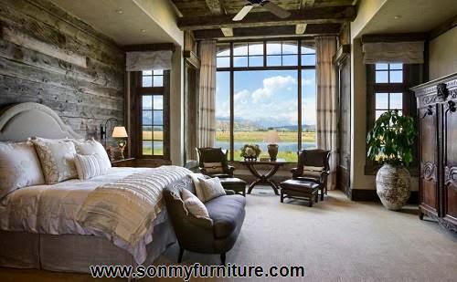 Phòng ngủ mộc mạc cho mùa đông ấm áp-3