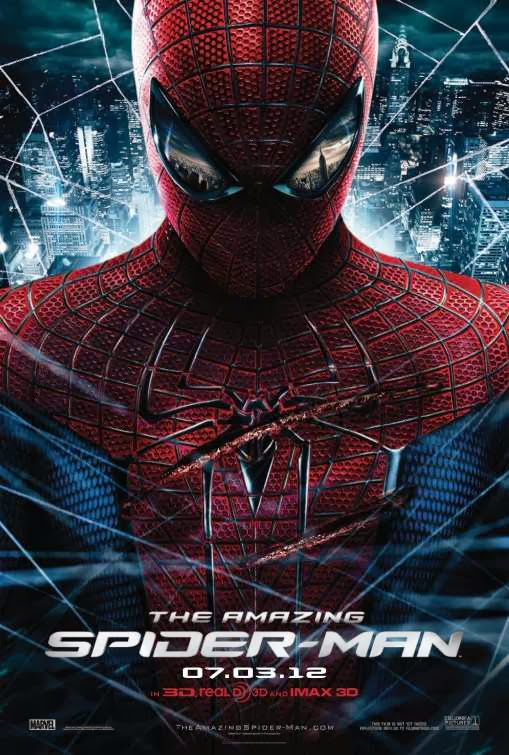 Poster Of The Amazing Spider-Man (2012) Full Movie Hindi Dubbed Free Download Watch Online At Alldownloads4u.Com