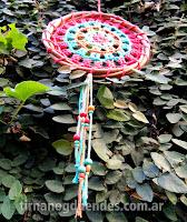 Mandala al crochet. www.tirnanogduendes.com.ar