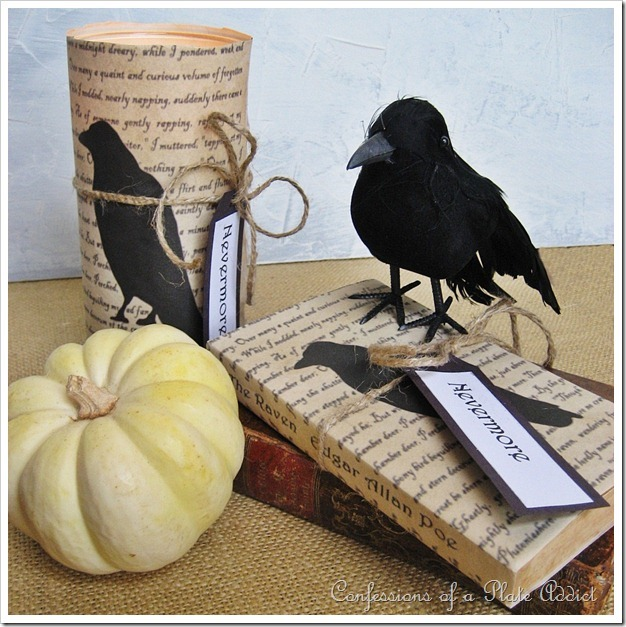 CONFESSIONS OF A PLATE ADDICT Quoth the Raven Book and Candle Covers