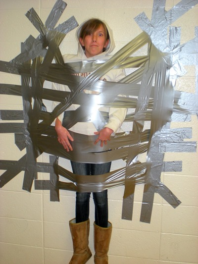 peter pan duct taped