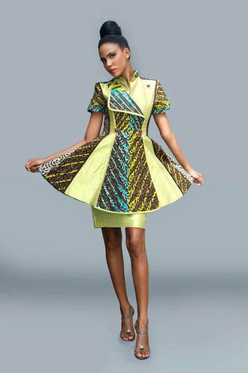 Lovely & Cute Kitenge Dresses  2017 2018