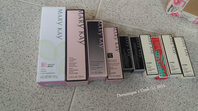 Some of the Mary Kay Products