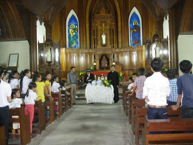 Giáo xứ Cù Lâm tổng kết niên khóa giáo lý 2014 - 2015