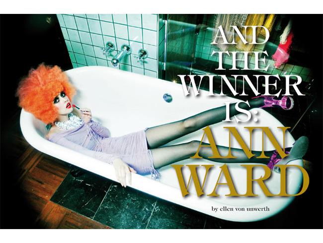 Ann Ward Vogue Ann Ward in Vogue Italia