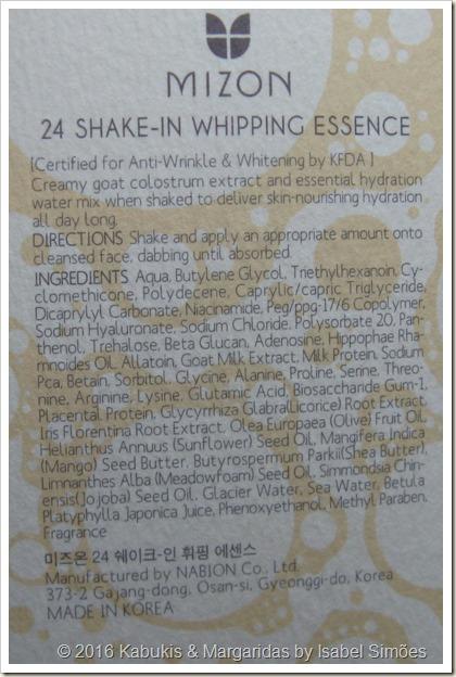 Mizon 24 Shake-In Whipping Essence