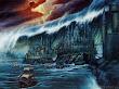 Castle Under Wave