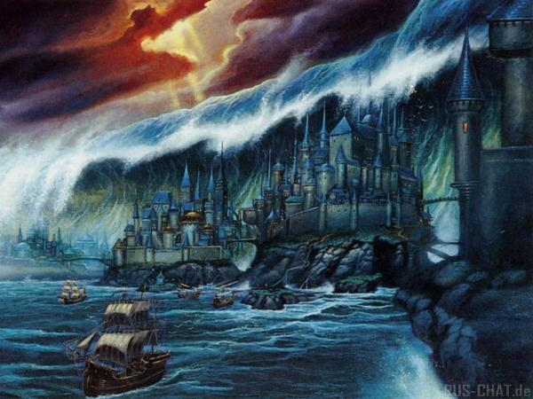 Castle Under Wave, Magical Landscapes 2